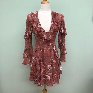 Wayf | Women's Flower Dress | Rose
